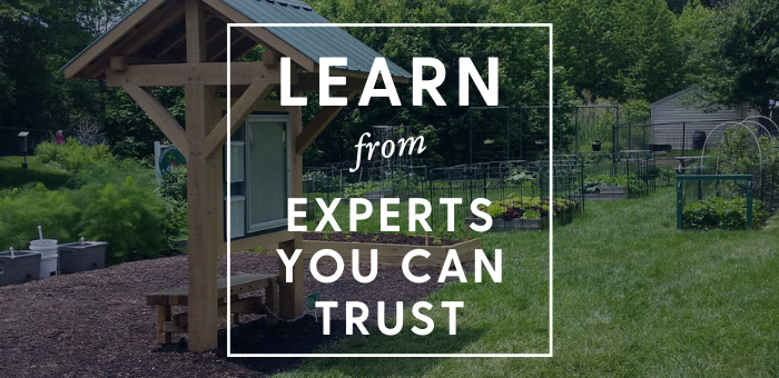 Learn from experts you can trust