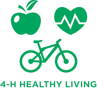 4-H Healthy Living Graphic