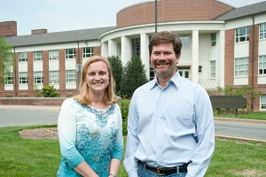 Professors Kali Kniel and Kent Messer CONSERVE faculty