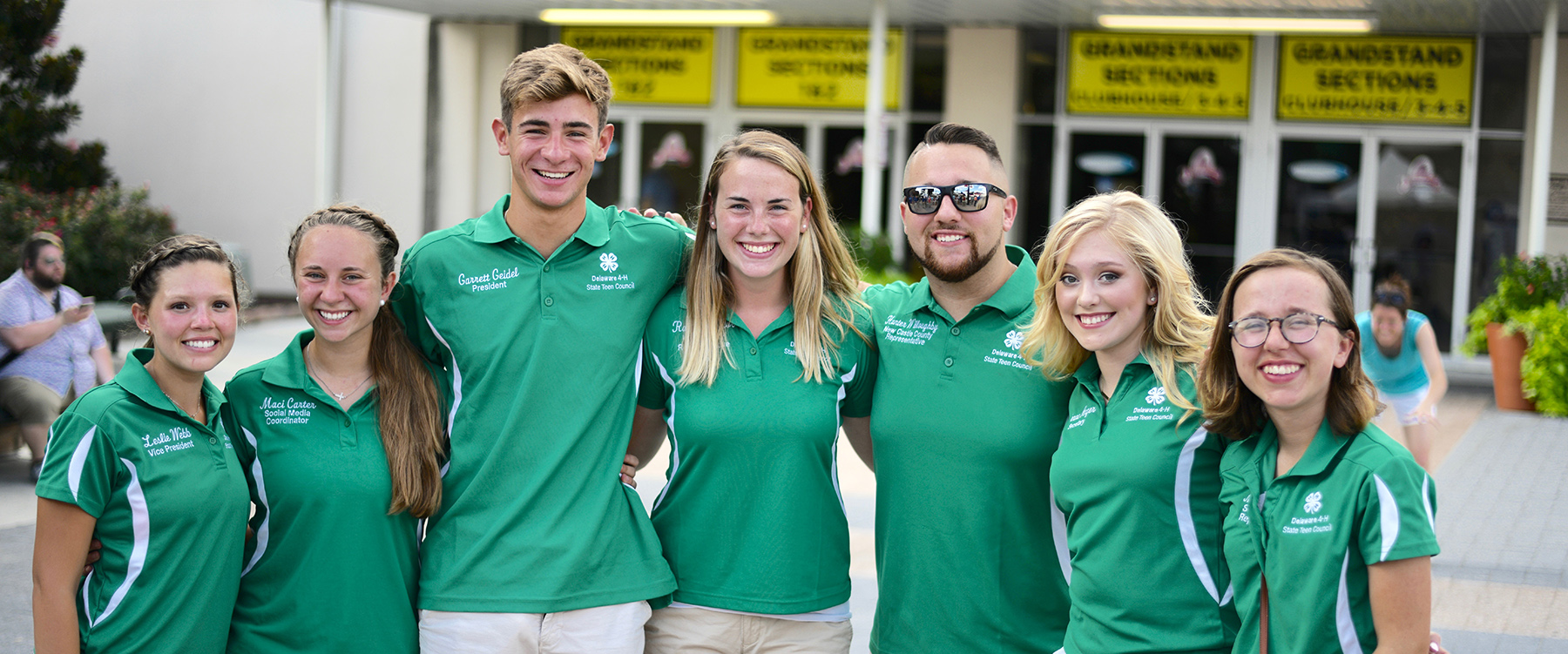 Delaware 4-H State Teen Council 2019 Officers