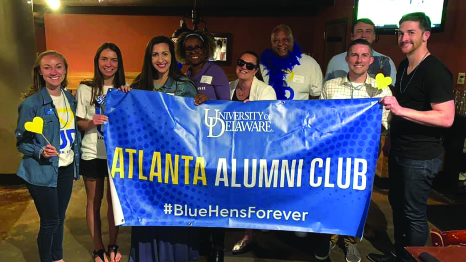 University of Delaware regional alumni events with the Atlanta Alumni Club
