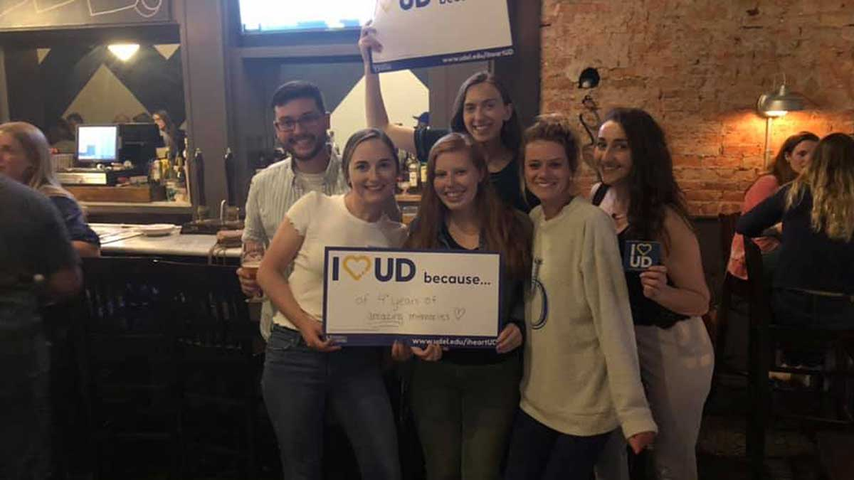 University of Delaware Philadelphia Alumni Club events.