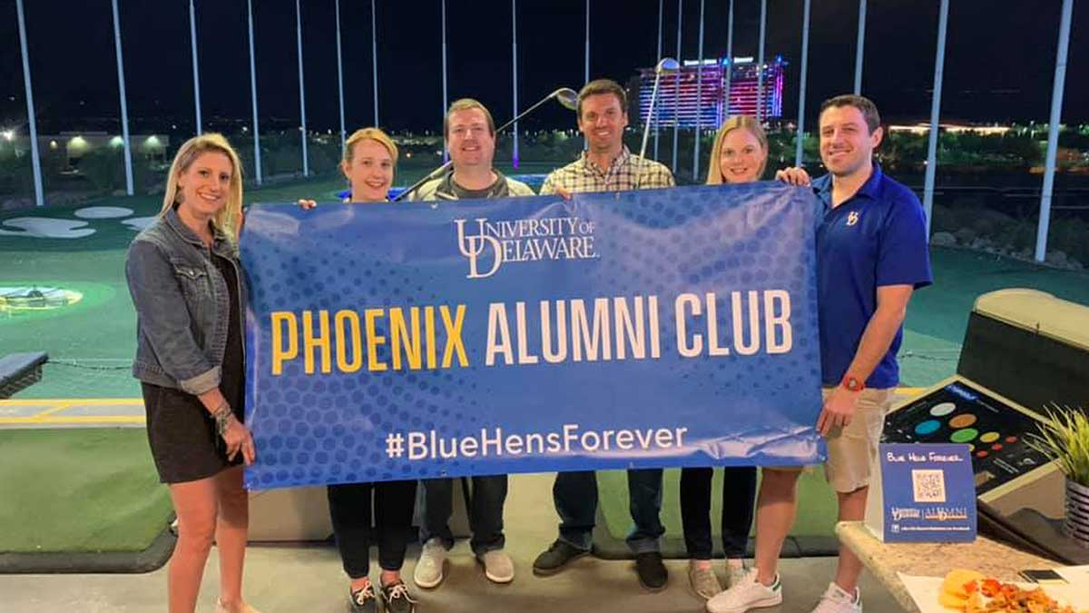 University of Delaware Phoenix Alumni Club events.