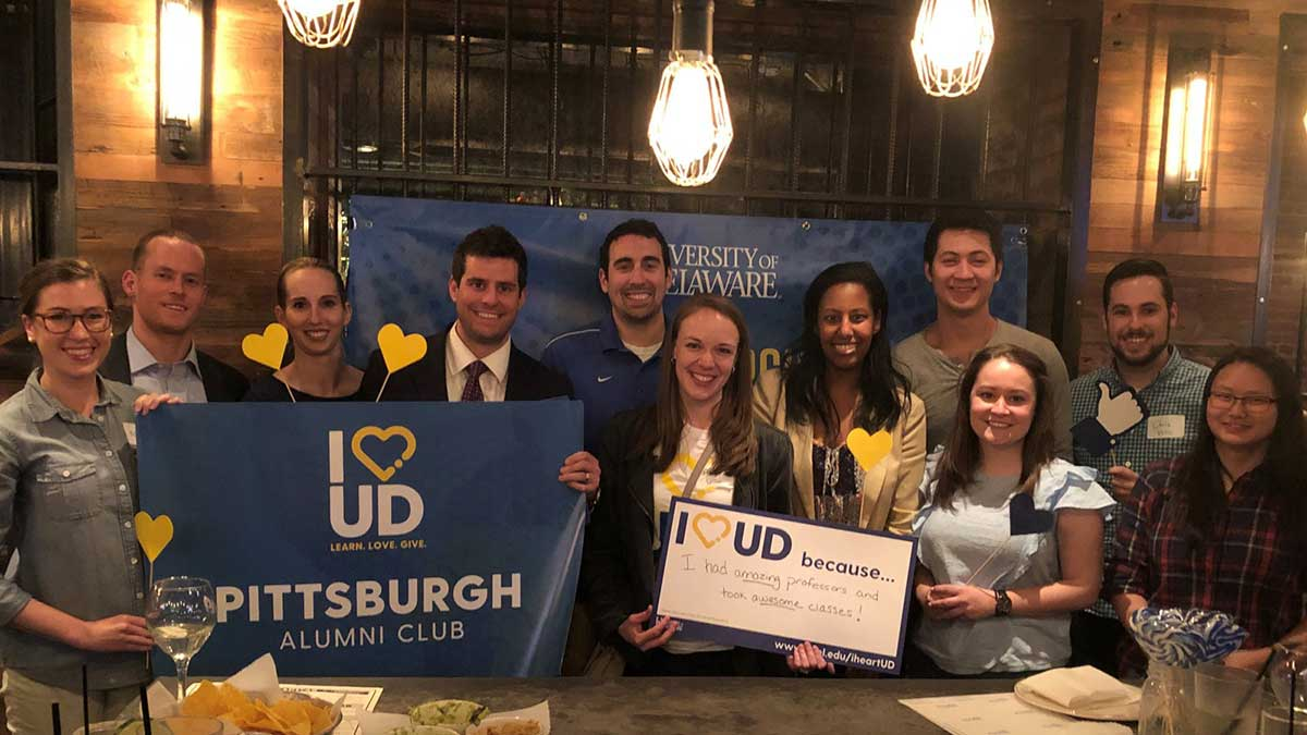 University of Delaware Pittsburgh Alumni Club events.