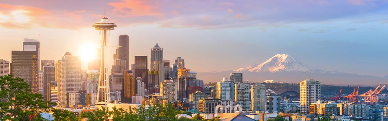 Seattle, Washington skyline.