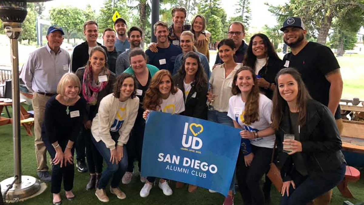 Regional alumni club events for UD alumni living in and around San Diego, California.