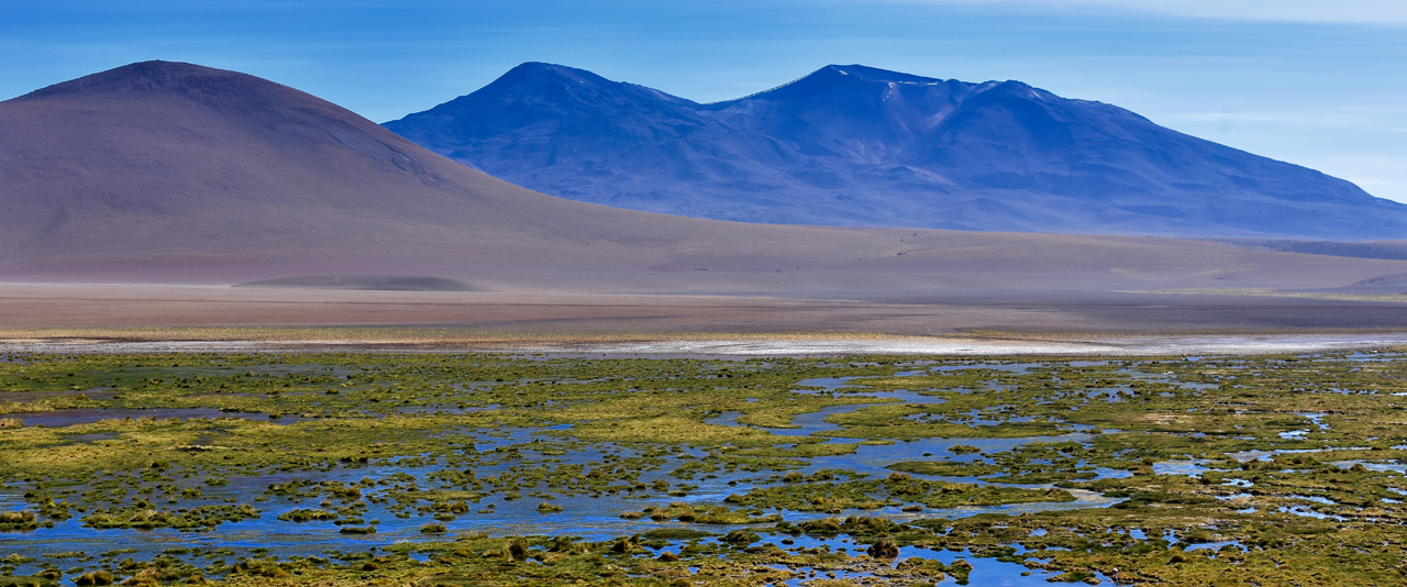 A photo of a landscape in Chile