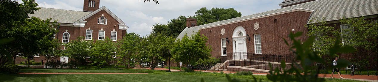 University of Delaware Hullihen Hall and Memorial Hall