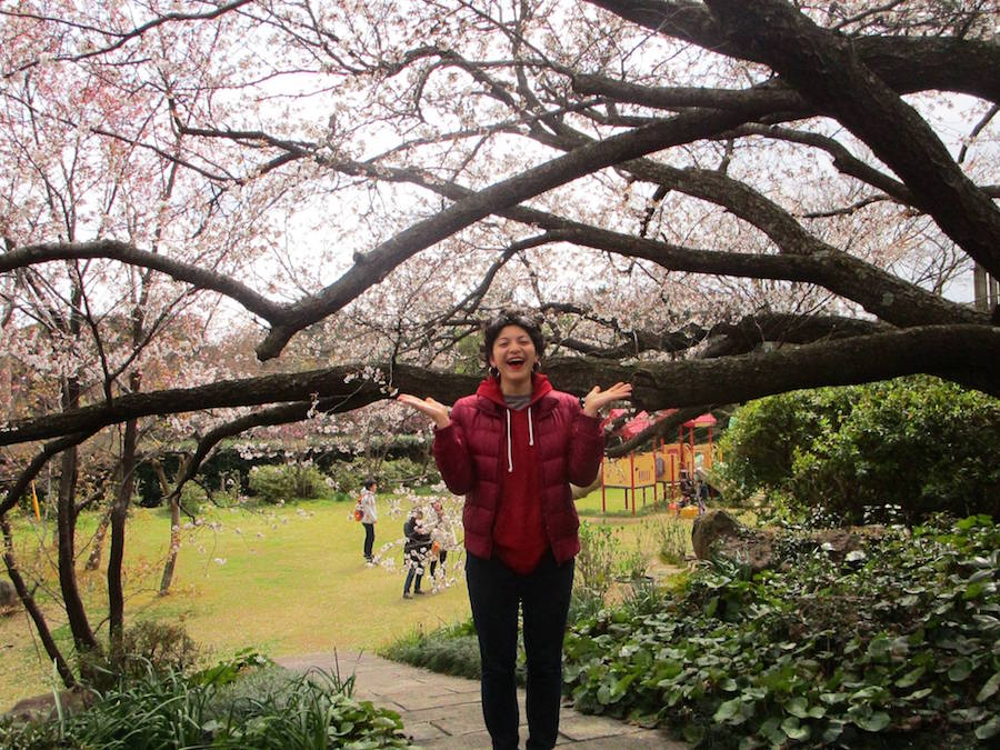 UD student studies comparative literature in Japan