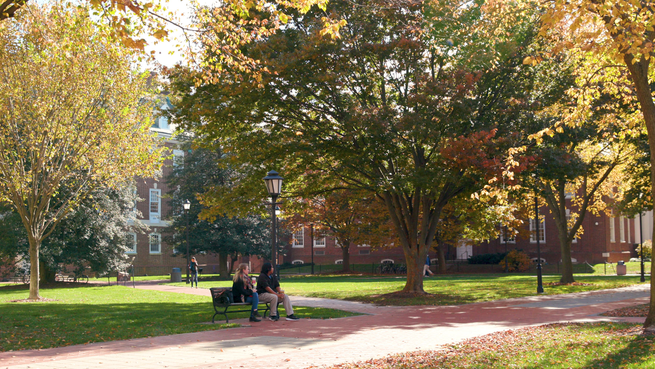University of Delaware campus autumn