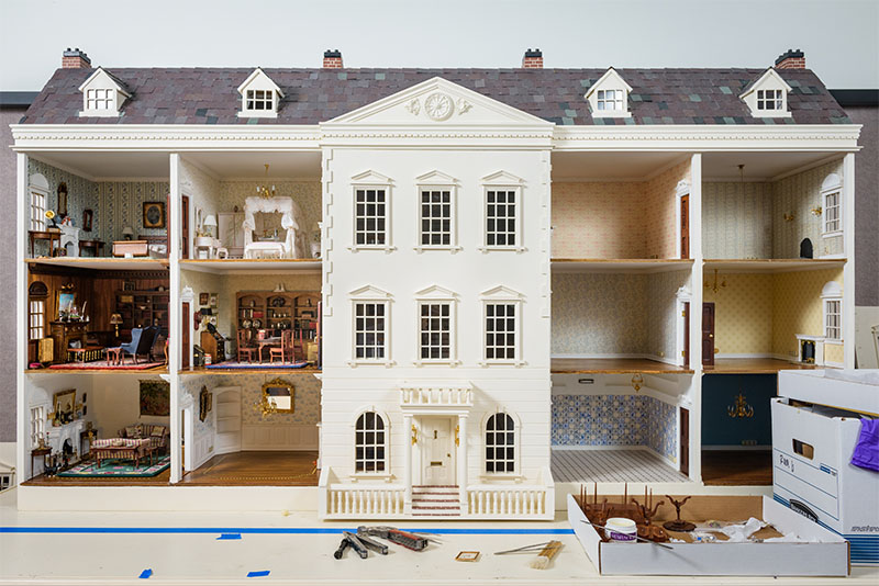 A Mansion In Miniature Udaily