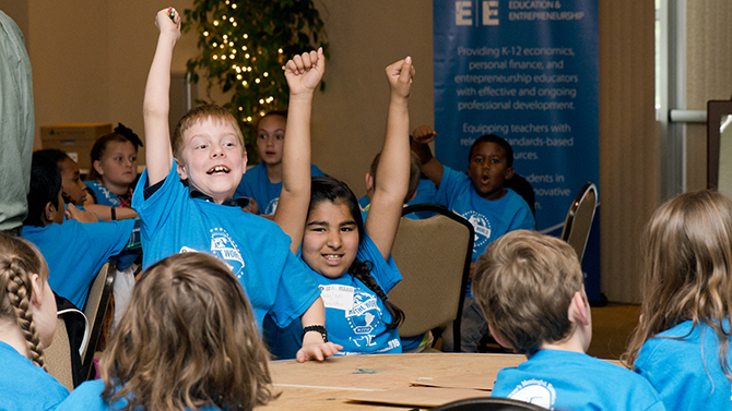 Competition introduces elementary students to world of economics