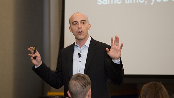 Gore Lecture: MIT's Sinan Aral discusses social media