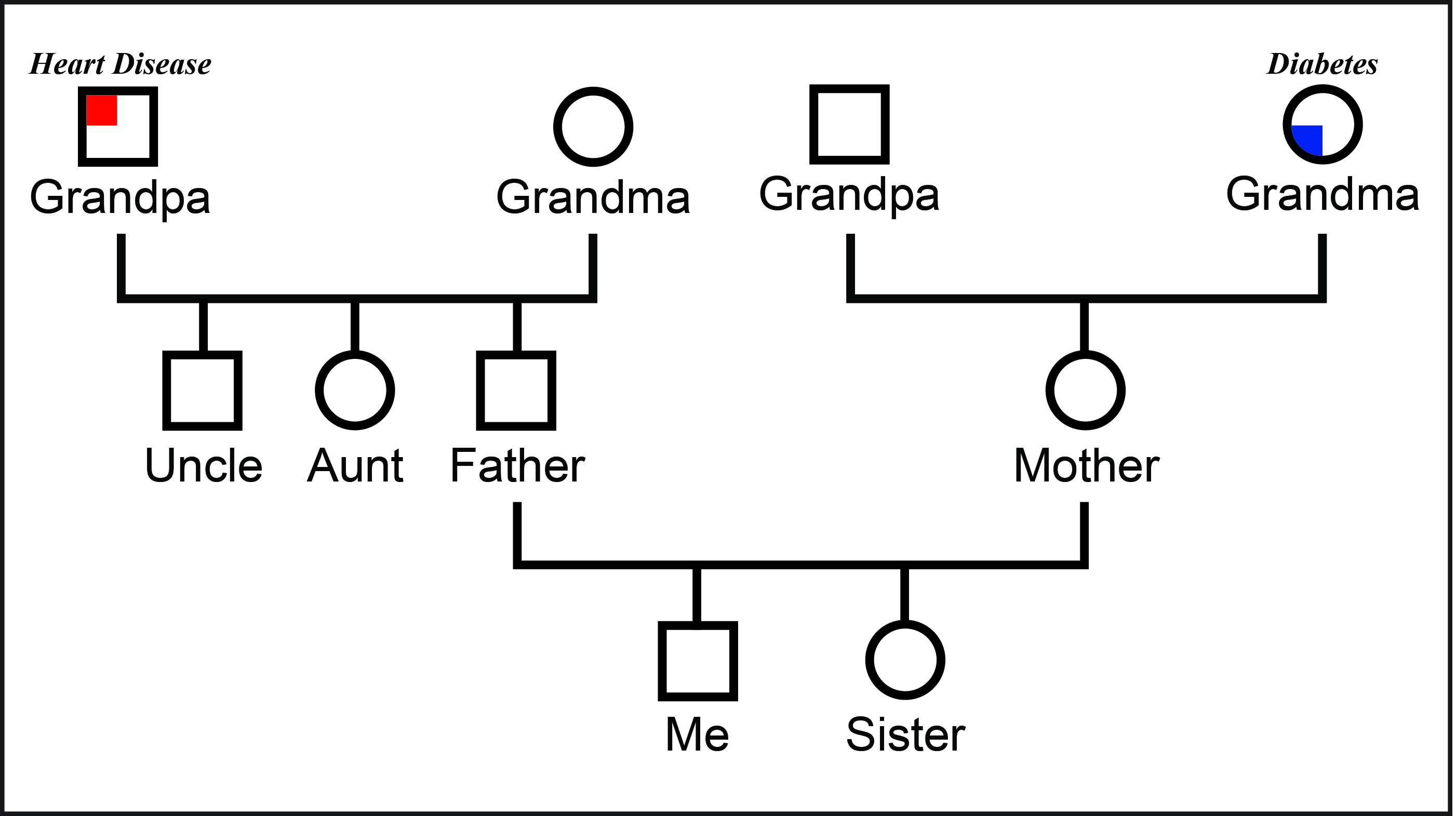 Genealogy workshops udaily for Family history genogram template