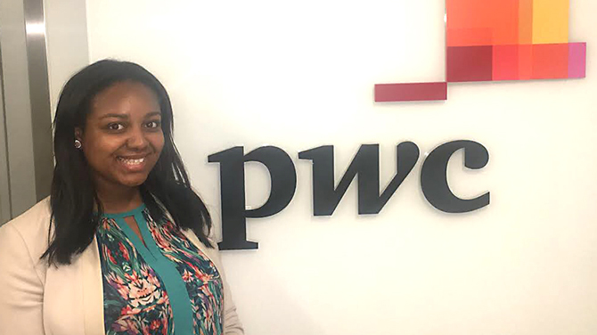 Connecting with PricewaterhouseCoopers