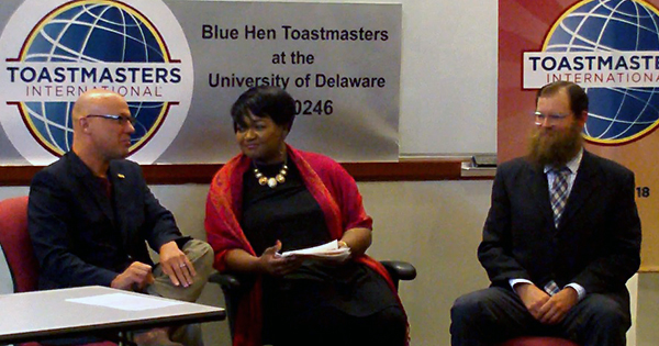 Public speaking club Toastmasters starts UD chapter