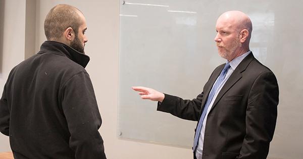 Horn starts Attorney-in-Residence program