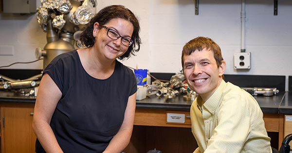 NSF Grant - Disabilities Rozovsky-Booksh in lab