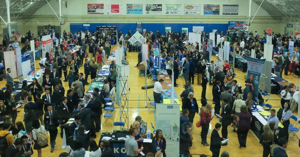 Feb. 15: Spring Career and Internship Fairs
