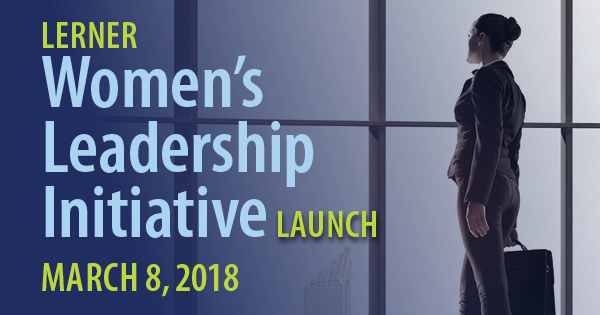 March 8: Women's Leadership Initiative Launch