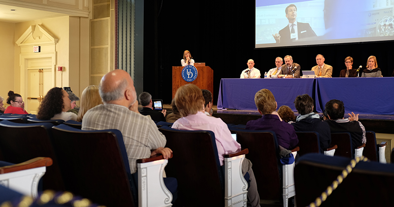 Interim Provost Morgan updates plans for graduate college, multicultural center