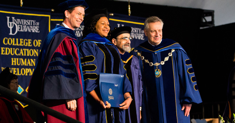 Five receive dissertation prizes at UD