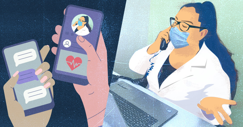 Virtual visits likely to stick around after the pandemic ends