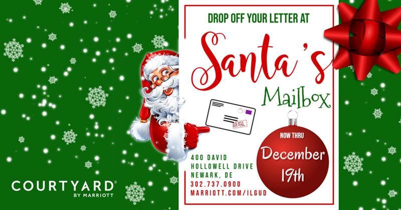 Courtyard Newark announces return of Santa's Mailbox ...