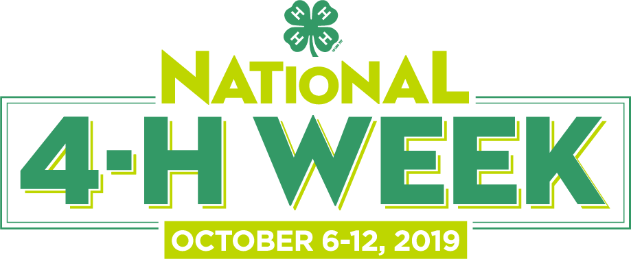 National 4-H Week Branding Logo