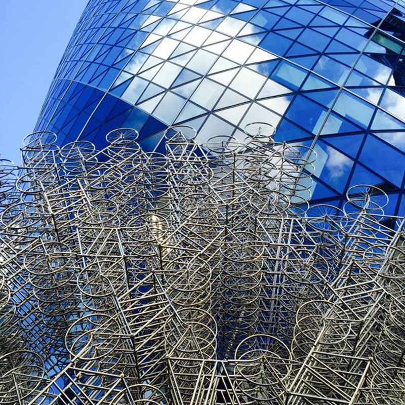 A photo of the Gherkin in London