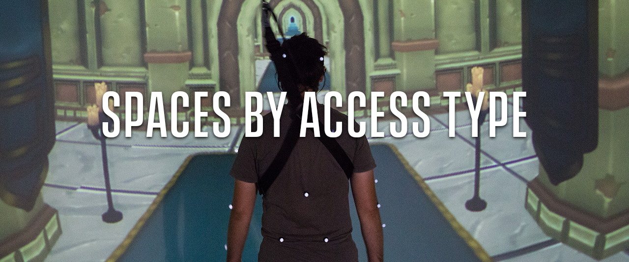 Spaces by Access Type