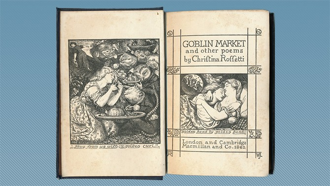 sisters' relationship in christina rossetti's goblin Start studying rossetti critics combined set christina rossetti is both the goblin market is a playing out of the dynamic of the two sisters, christina.