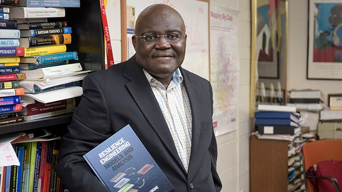Attoh-Okine publishes new book 'Resilience Engineering'
