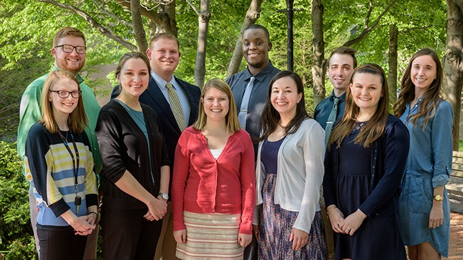Outstanding student teachers honored