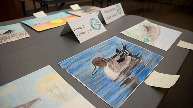 Junior Duck Stamp competition