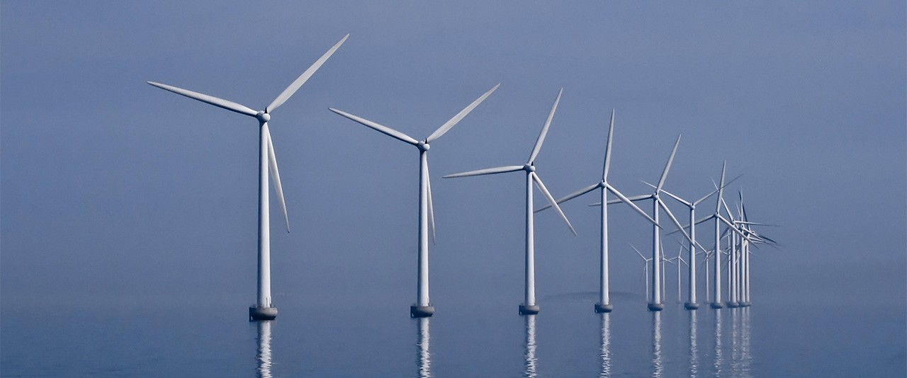 Wind turbine group