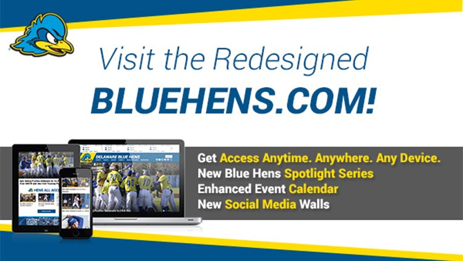 Revamped BlueHens.com