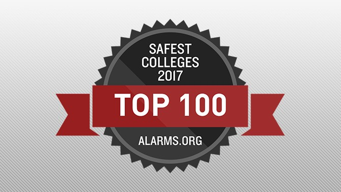 Top 100 Safest Colleges in America