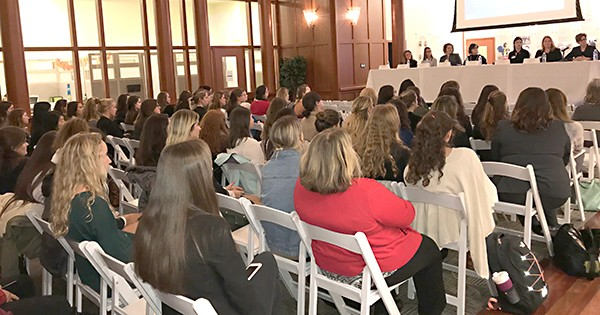 Lerner College's Women Careers & Leadership panel discussion