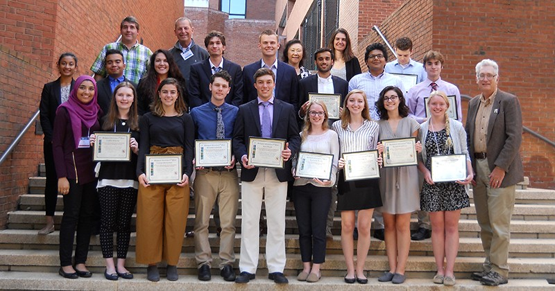 UD participants in Undergraduate Research Symposium