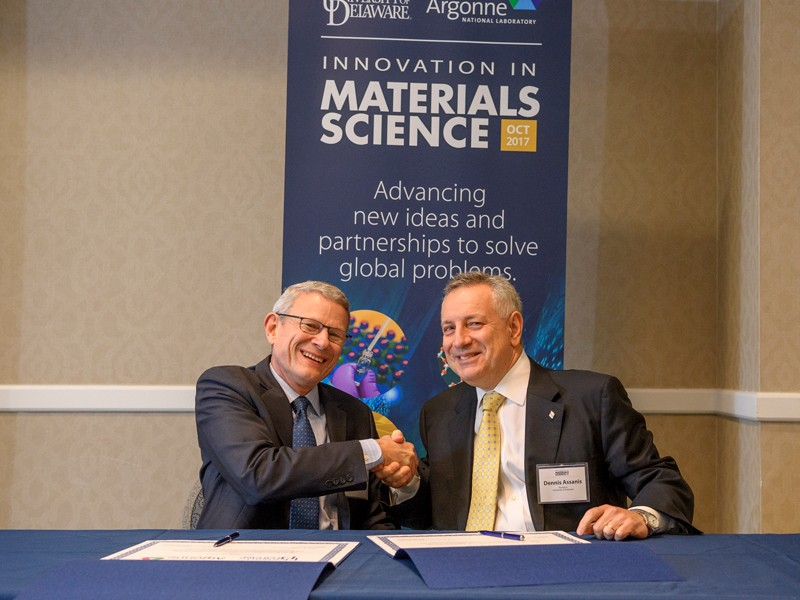 UD partners with Argonne National Lab
