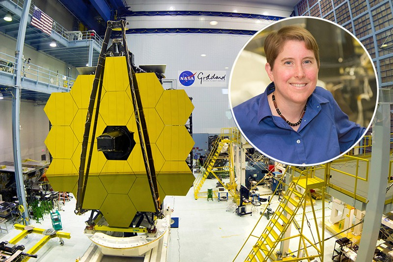 NASA scientist with Delaware