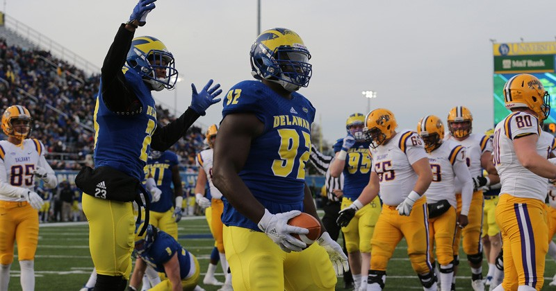 Newark native Bilal Nichols is first Delawarean Blue Hen picked in NFL draft since 1985.