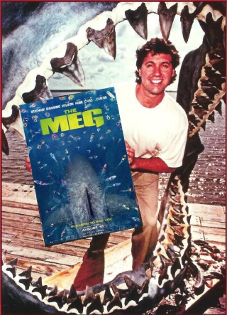 "UD grad Steve Alten was inspired to write his shark novels by the movie ""Jaws."""