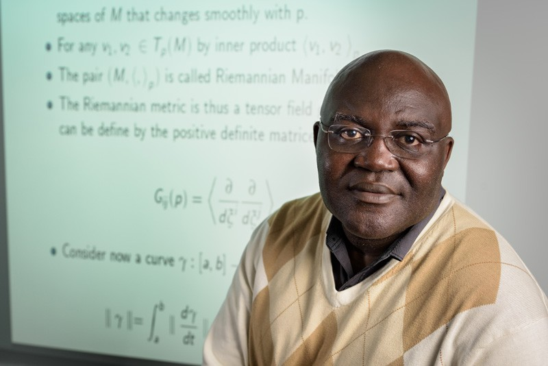 Nii O. Attoh-Okine is a professor of civil and environmental engineering at the University of Delaware and interim academic director of the university's Cybersecurity Initiative.