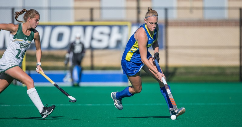 Greta Nauck led Delaware this season with 39 points on 13 goals and 13 assists.