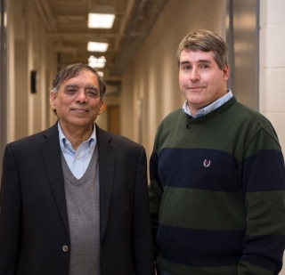 UD Professors Prasad Dhurjati (left) and Deni Galileo
