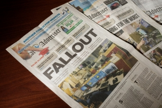 Newspapers in Hawaii reported on the false alarm about a missile attack.