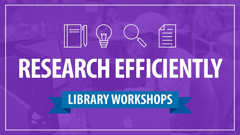 Library offers research workshops
