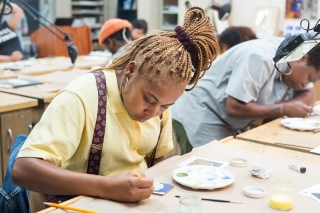 The program, supported by the Samuel H. Kress Foundation and offered in collaboration with the HBCU Alliance of Museums and Art Galleries, is designed to expose talented students to art conservation as an academic discipline and a potential career.